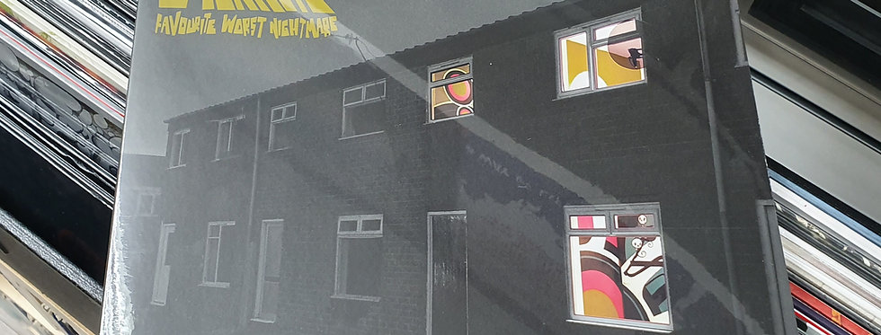 Arctic Monkeys Favourite Worst Nightmare Vinyl Album