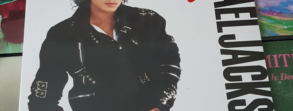 Michael Jackson Bad vinyl album