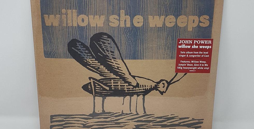 John Power Willow She Weeps White Vinyl Album