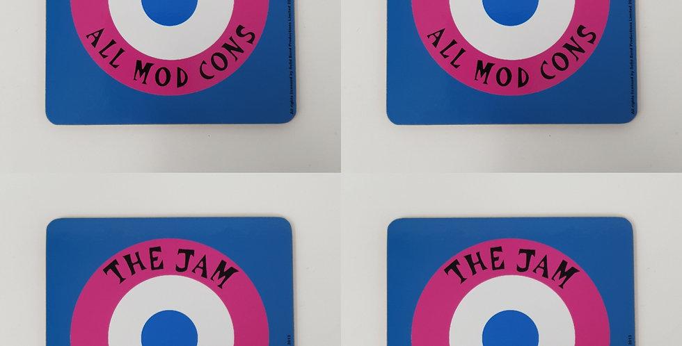 Set of 4 The Jam All Mod Cons Coaster