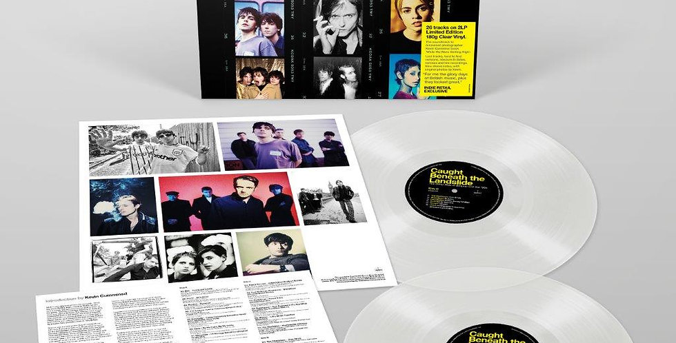 Caught Beneath The Landslide  Clear Vinyl Album