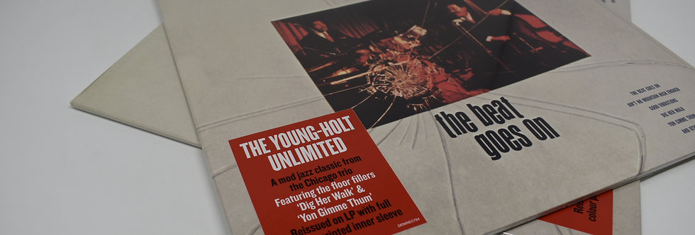 Young Holt Unlimited The Beat Goes On Vinyl Album
