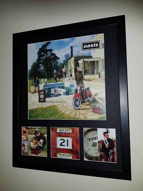 Be here now album artwork display