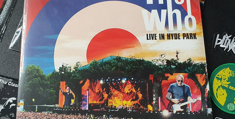 The Who Live In Hyde Park Vinyl Album