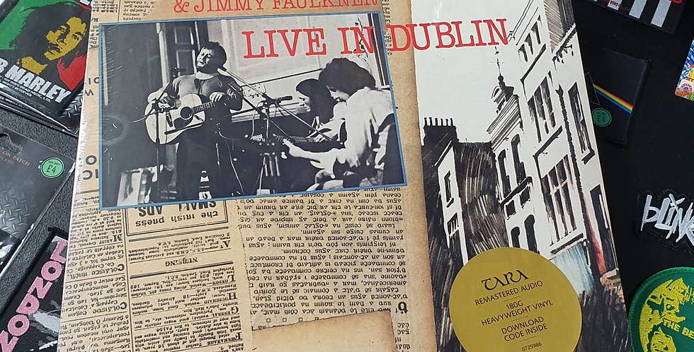Christy Moore Live In Dublin Vinyl Album