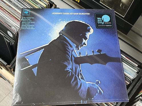 Johnny Cash San Quentin Vinyl Album