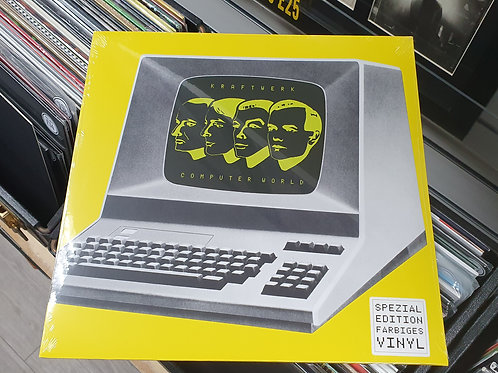 Kraftwerk Computer World Coloured Vinyl Album