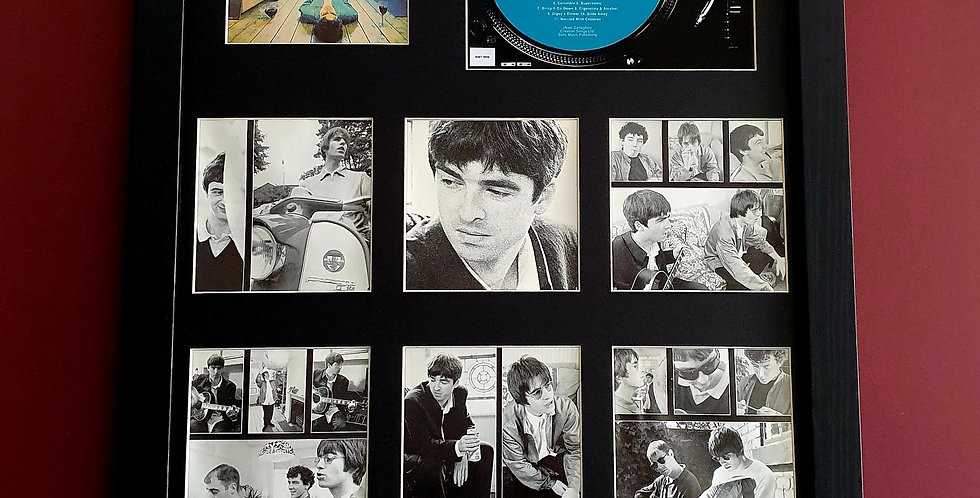 Definitely Maybe cd album & artwork display