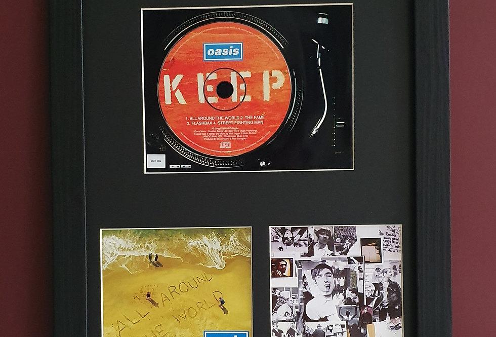 All Around The World cd single display