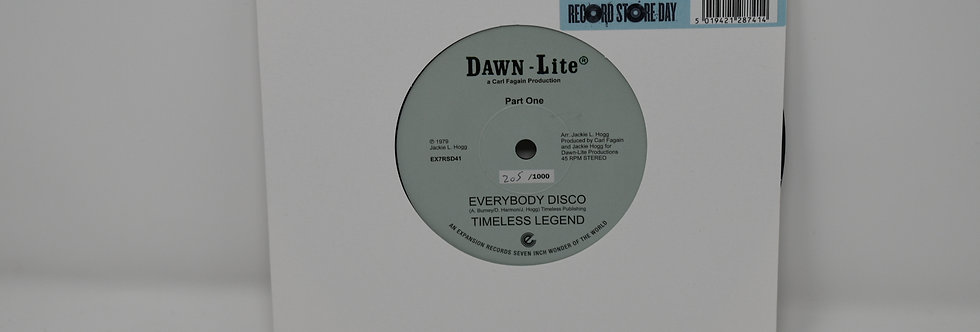 Timeless Legend - Everybody Disco - Paarts 1 & 2