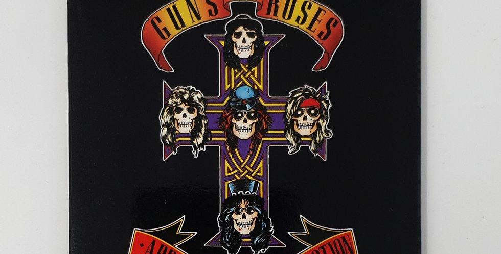Guns N Roses Appetite Fridge Magnet