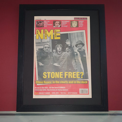 The Stone Roses NME display