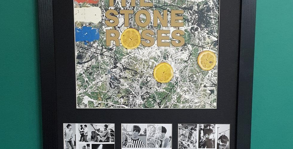 The Stone Roses album artwork display