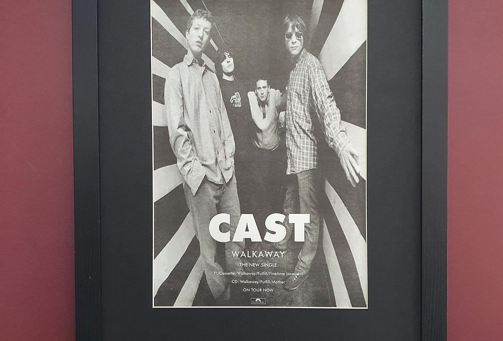Cast walkaway framed promo advert