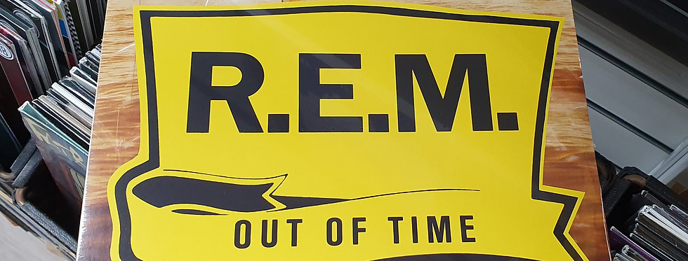 R.E.M Out Of Time Vinyl Album