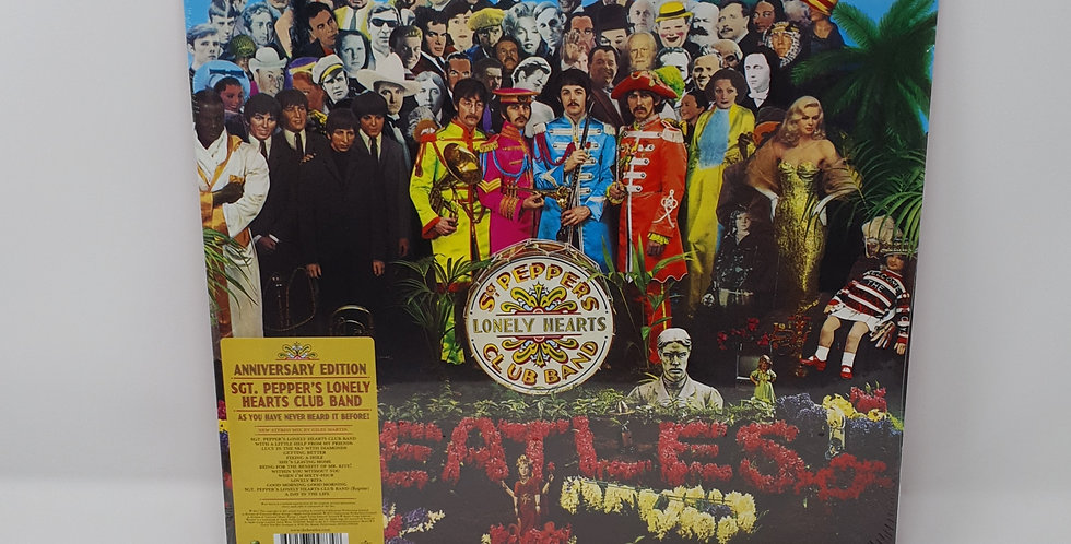 The Beatles Sgt Peppers Lonely Hearts Club Vinyl Album