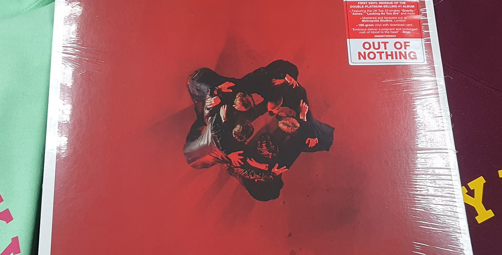 Embrace Out Of Nothing Vinyl Album