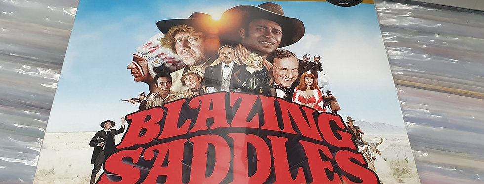 Blazing Saddles 40th Anniversary Edition Vinyl Album