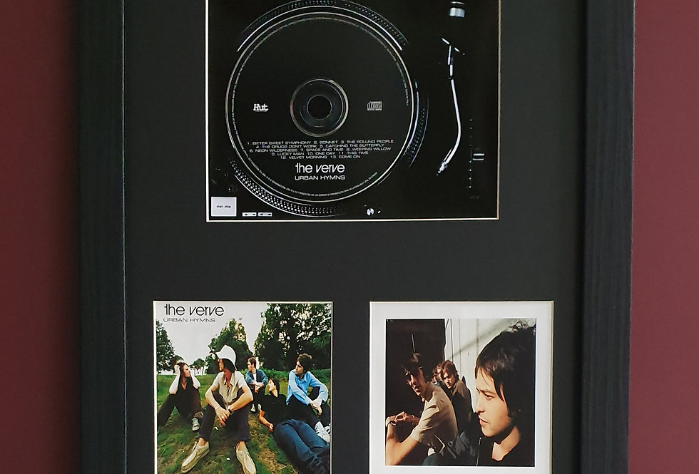 The Verve Urban Hymns cd album display