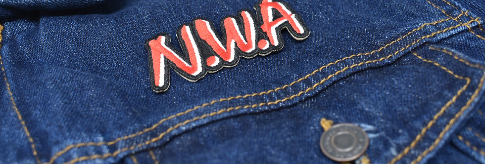 N.W,A Embroidered patch