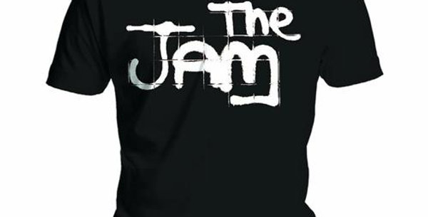 The Jam Logo official Tshirt (black)