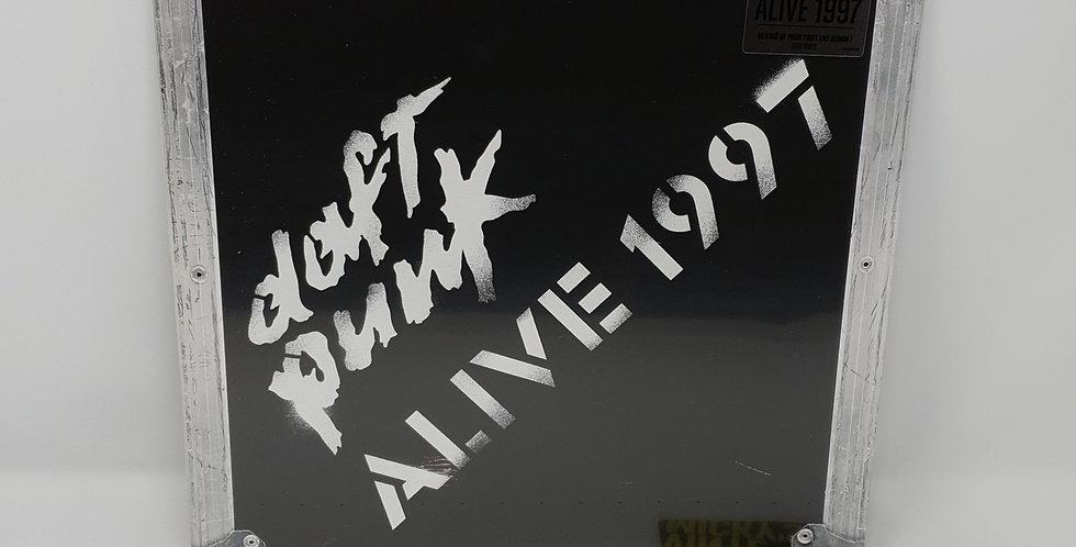 Daft Punk Alive 1997 Vinyl Album