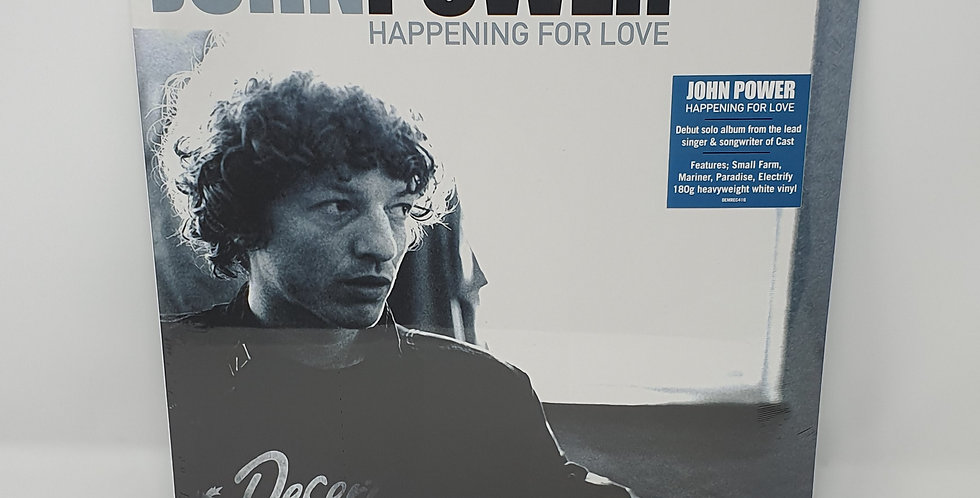 John Power Happening For Love  White Vinyl Album