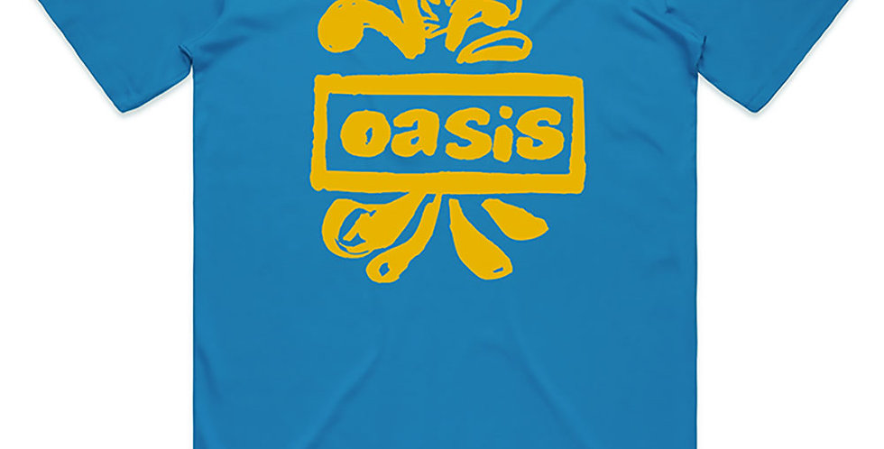 Oasis official Tshirt (blue)
