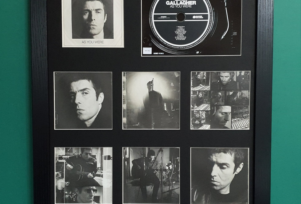 Liam Gallagher As you were cd album & artwork display