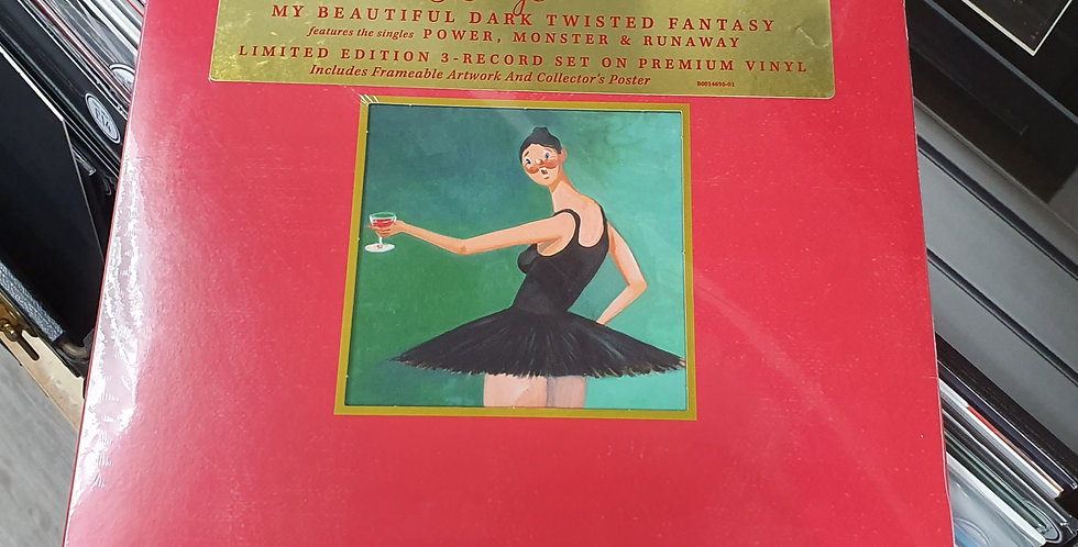 Kanye West My Beautiful Dark Twisted Fantasy Vinyl Album