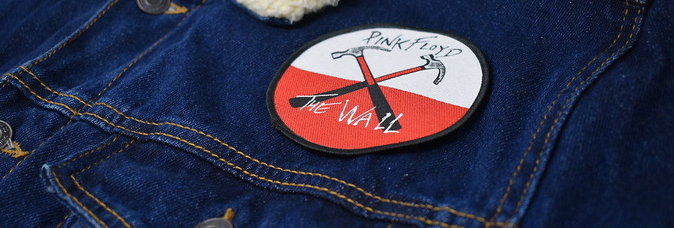 Pink Floyd The Wall Sew on Embroidered patch