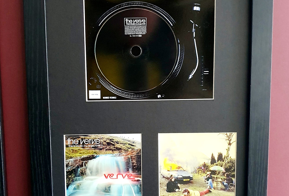 The Verve This is music cd album display