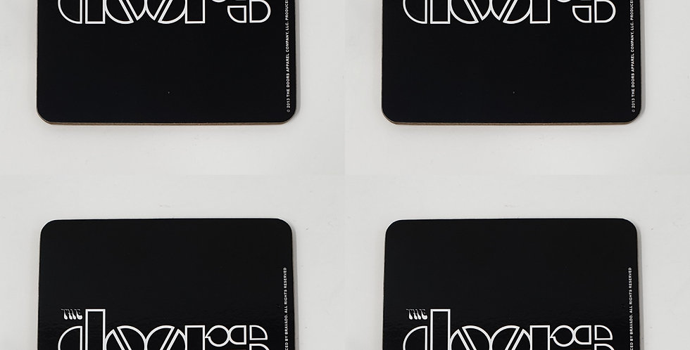 Set of 4 The Doors Coaster