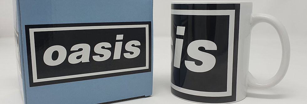 Oasis Logo Boxed Mug