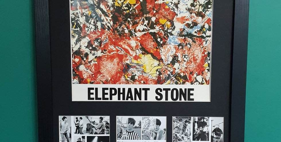 The Stone Roses Elephant Stone artwork display