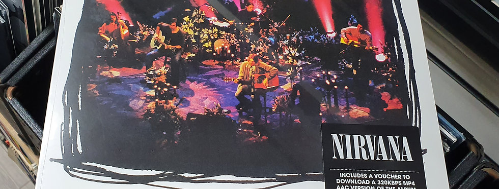 Nirvana MTV Unplugged Vinyl Album