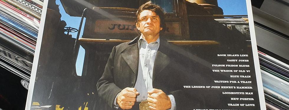 Johnny Cash Rock Island Line Vinyl Album