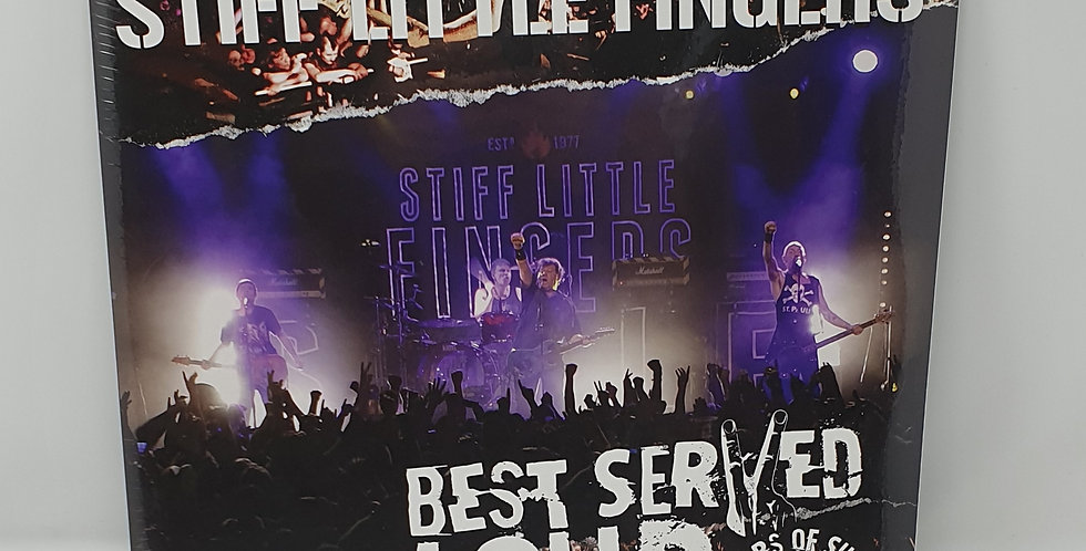 Stiff Little Fingers 25 Years of Shows Barrowlands Vinyl Album