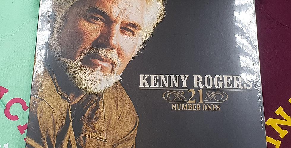 Kenny Rogers 21 Number Ones Vinyl Album