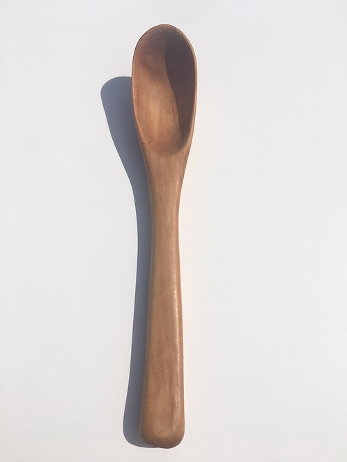 Pear Wood Soup Spoon