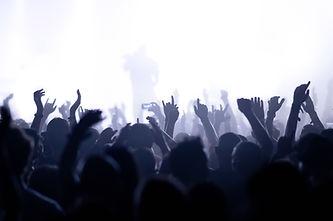 Silhouettes de la foule
