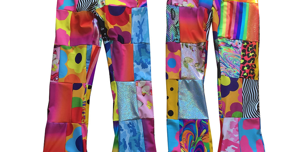 FUNKY PATCHWORK TROOSERS!
