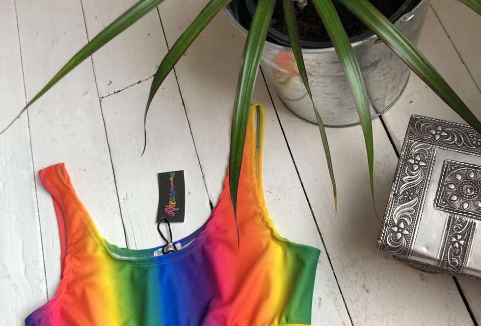 Sale -  rainbow gradient tank top (two sizes available )