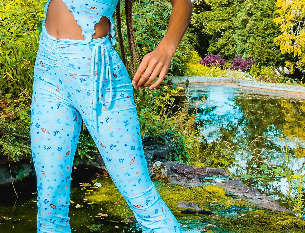 BBY BUTTERFLIES FLARES ( XS ) ( SAMPLE )