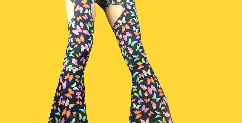 MIKA FLARES (no cut out) - made & ready to ship