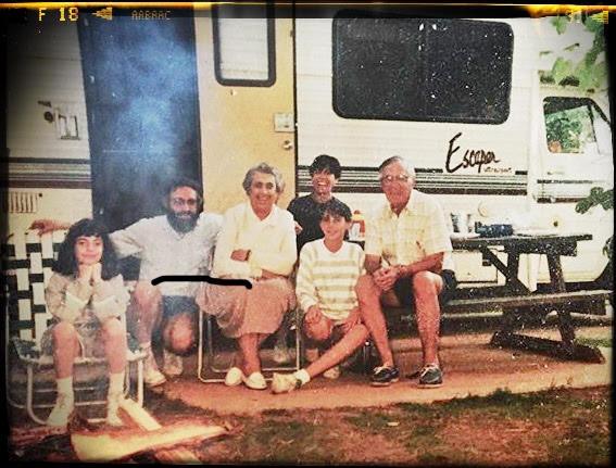 Family Picture - North Carolina. 1990