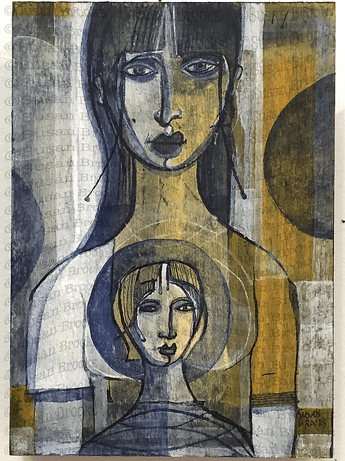 Painting: two women 581