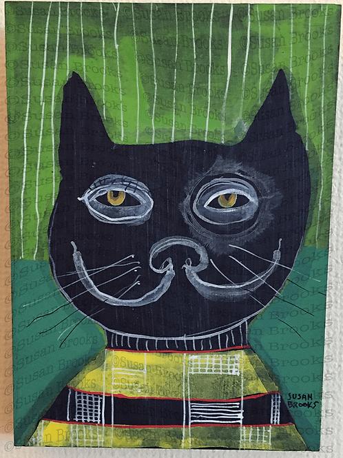 Painting: cat 588