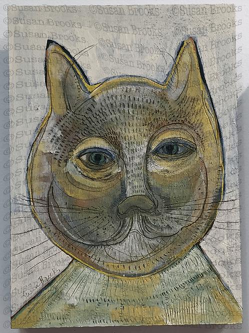 Painting: cat 585