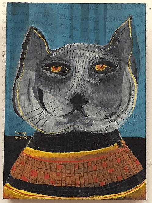 Painting: cat 587